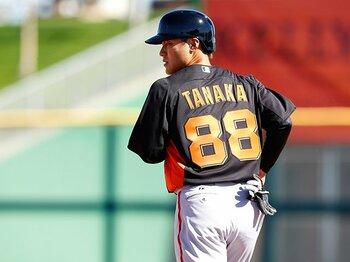 背番号「88」でも揺るがない、田中賢介の熱き思い。~夢のメジャーへ這い上がる~<Number Web> photograph by Yukihito Taguchi