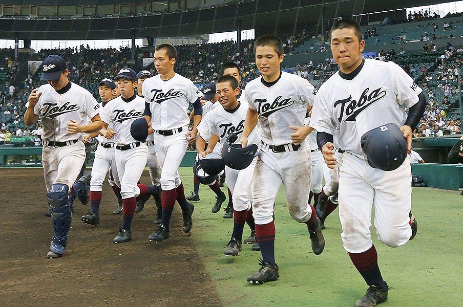"""""""本物""""のファインプレーを見たか。甲子園に鳥羽高が残した伝説の数々。<Number Web> photograph by Kyodo News"""