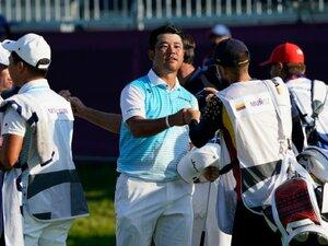 """《男子ゴルフ》松山英樹、""""特別な場所""""でメダル届かず「ゴルフはメジャーが4つあって、恵まれているのかな」"""