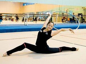 皆川夏穂と新体操42年ぶりの快挙。「美しさ、優雅さ」の先にメダルが。