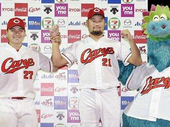 カープの「締めの男」は中崎翔太だ。江夏、大野、津田、永川と続く系譜。<Number Web> photograph by Kyodo News
