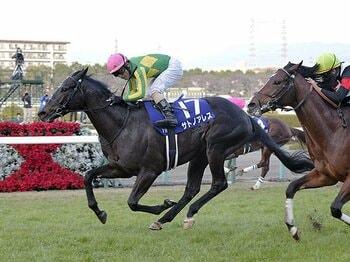 クラシック戦線で名門復権なるか。サトノアレスが背負う社台の看板。<Number Web> photograph by Kyodo News