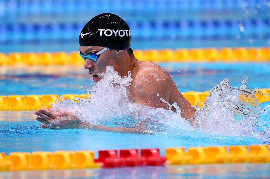 競泳界のホープが日本選手権初V。渡辺一平「世界記録更新」へ着々。<Number Web> photograph by AFLO