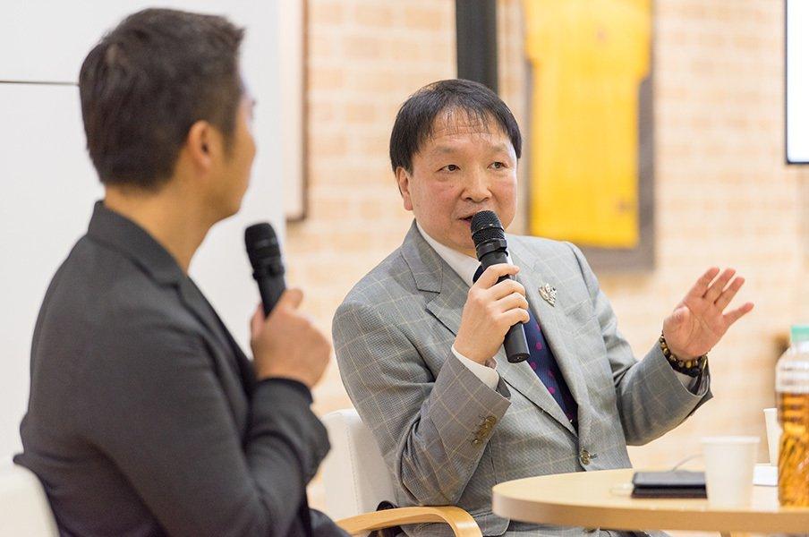 大橋会長が語るボクシングの未来。井上尚弥vs.那須川天心の可能性。<Number Web> photograph by Ichisei Hiramatsu