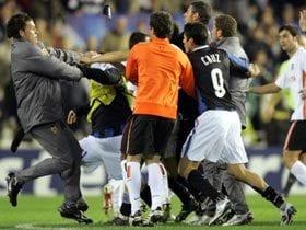バレンシア乱闘劇の一部始終。