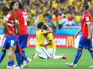 ブラジル、PK戦でチリを下し8強へ!「対極」の戦術が生んだ極上の死闘。