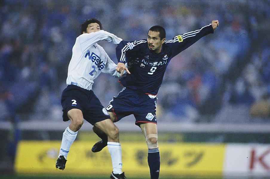 Jどころかサッカー史に残る最終節。03年マリノス完全Vは奇跡の連鎖。<Number Web> photograph by J.LEAGUE