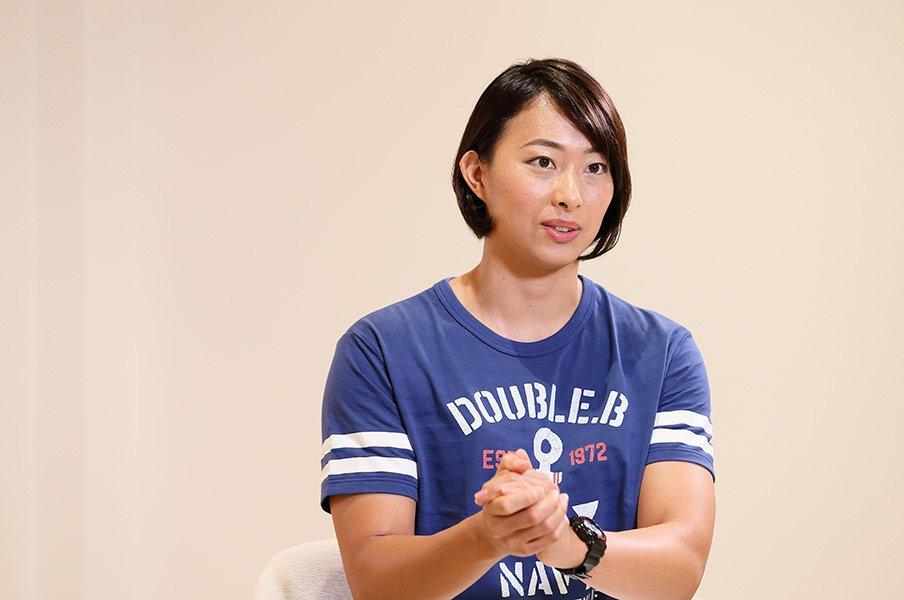 アジア大会で完全復活を遂げた、ベテランスイマー・鈴木聡美が描く未来。<Number Web> photograph by Shigeki Yamamoto