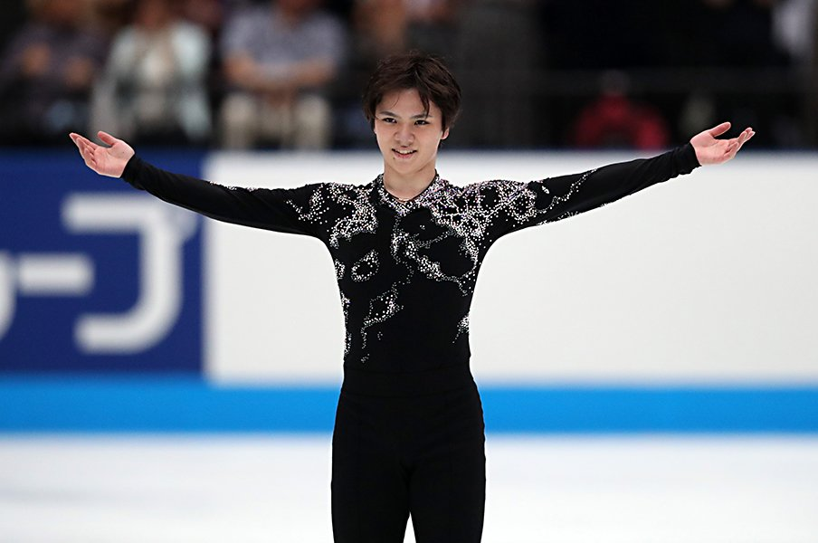 宇野昌磨が「楽しむ」と記した理由。言葉に感じたスケートへの真摯さ。<Number Web> photograph by Jun Tsukida/AFLO SPORT