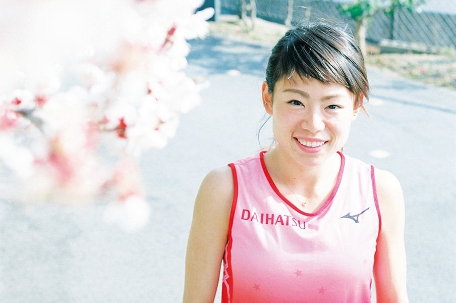女子マラソンの新星・松田瑞生。動物的なオーラと底抜けの明るさ。<Number Web> photograph by Ai Hirano