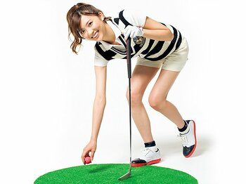 <あの人気キャスターに直撃!> 山岸舞彩 「ゴルフから全てを学んだ」<Number Web> photograph by Miki Fukano