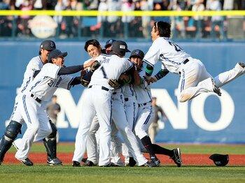 113人中101人が最下位を予想……。横浜ベイの開幕戦を観に行った!!<Number Web> photograph by NIKKAN SPORTS