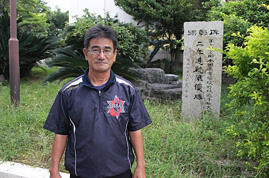 古豪復活を目指す沖縄水産の今――。甲子園請負人が秘める夏への期待。<Number Web> photograph by Yu Takagi