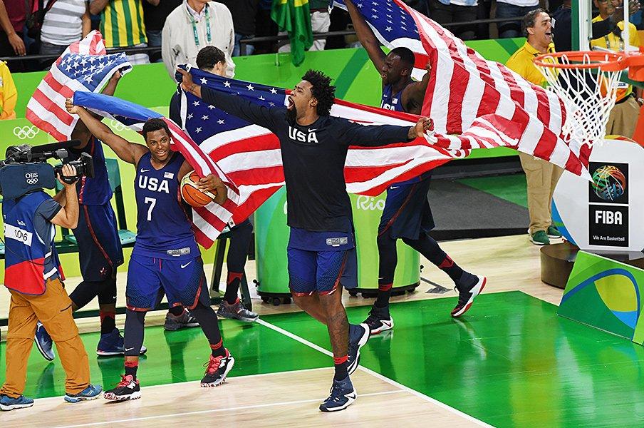 五輪バスケの競技日程に違和感。決勝戦はアメリカが出る前提?<Number Web> photograph by Getty Images