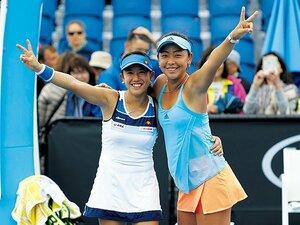 互いを知り尽くすエリミユ。ベスト4はまぐれじゃない。~女子テニス界の「動物的&堅実」ペアの関係性~