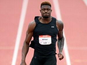 """「五輪選考会の標準記録も可能」NFL屈指の俊足選手が100m走に挑戦 """"ボルトより速い〇〇選手""""論に終止符?"""