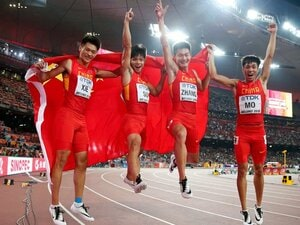 """日本が失った""""アジアNo.1""""の座。男子4×100mに何が起こったのか。"""
