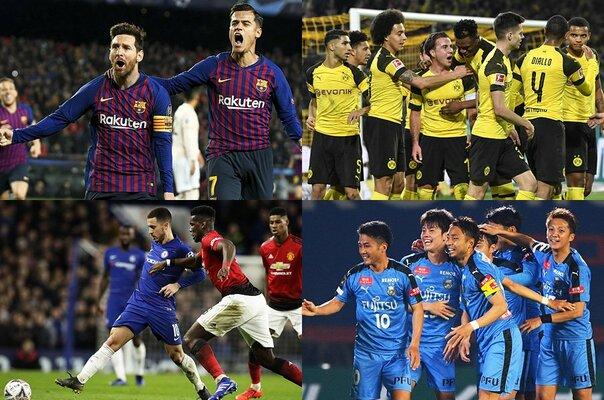 大型GWがサッカー観戦で終わる予感。 国内も欧州も、驚くほどの激戦続き。