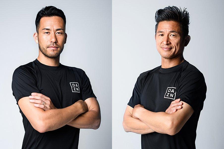 <世界を知る者が語り合う> 三浦知良×吉田麻也「最先端のサッカーを見て、世界との差を埋める」<Number Web> photograph by Asami Enomoto