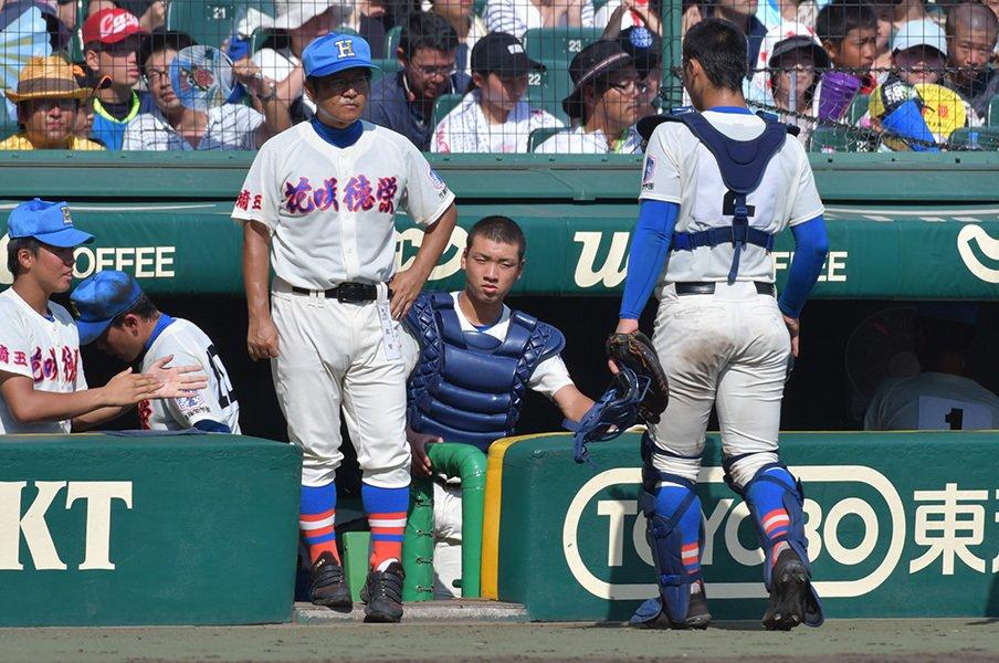 どう考えても、敬遠は逃げではない。広陵・中村と松井秀喜の「差」は何か。<Number Web> photograph by Hideki Sugiyama