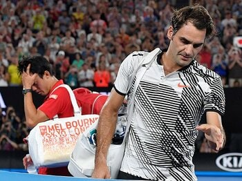 錦織圭の「格上」「格下」って誰だ。テニスは、ランキング=格ではない。<Number Web> photograph by AFLO