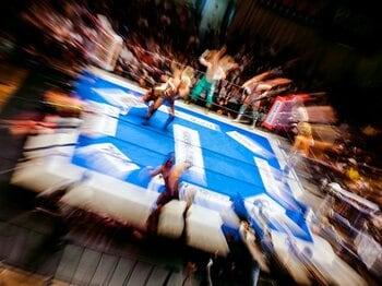 「プロレス総選挙2018」最終中間速報。首位を独走の内藤哲也が、ついに!!<Number Web> photograph by Sports Graphic Number