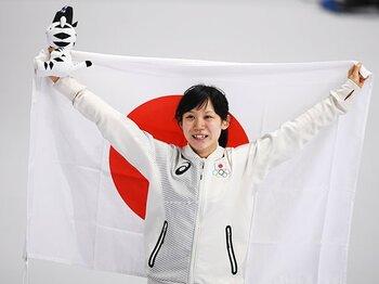 """""""つたない英語""""が高木美帆を変えた。オランダ人コーチが支えた銀メダル。<Number Web> photograph by Tsutomu Kishimoto/JMPA"""