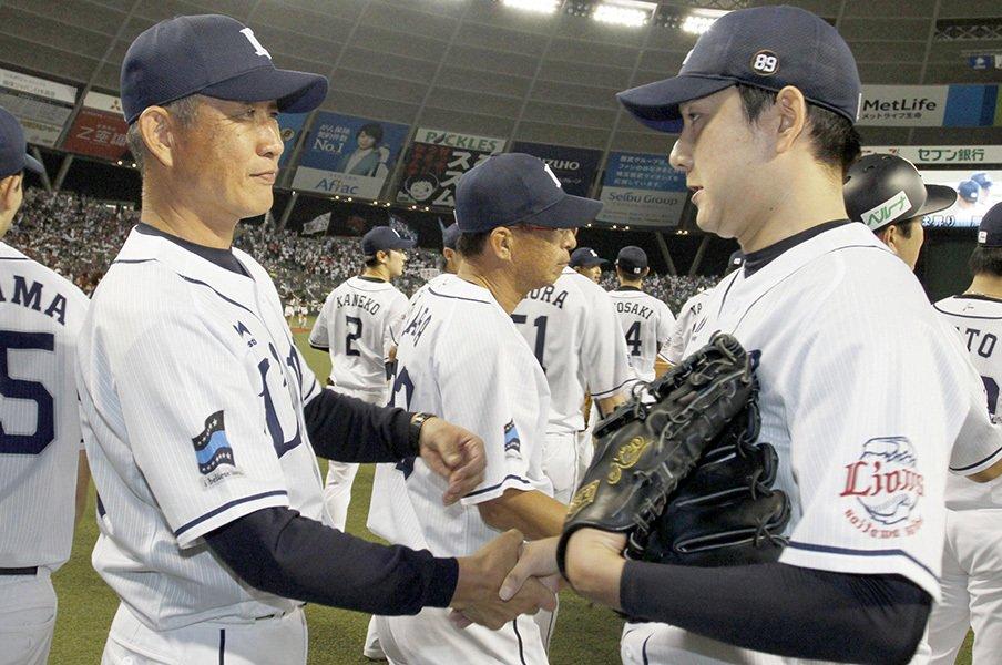 「岸ロス」乗り越えた西武先発陣。野上亮磨と十亀剣はCSでも頼れる。<Number Web> photograph by Kyodo News