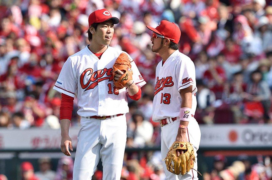 「カープの歴史に名を残すチーム」マエケンが語る3連覇とプレーオフ。<Number Web> photograph by Nanae Suzuki