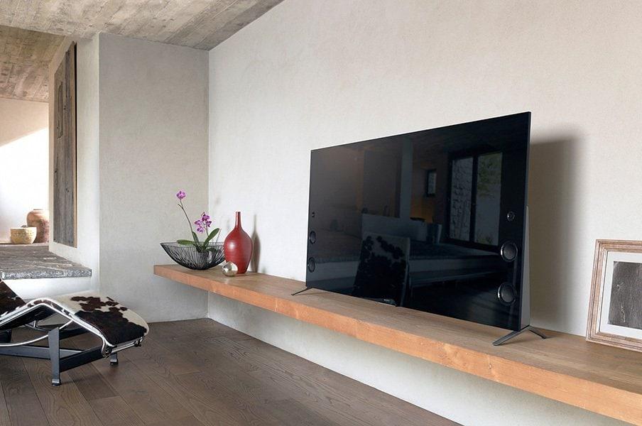 年末年始のスポーツイベントを心ゆくまで楽しむ高性能4Kテレビ。<Number Web> photograph by Sony