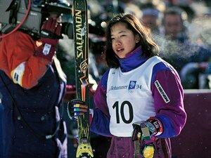 金メダル後も挑戦し続けた里谷多英。引退宣言までの競技人生を振り返る。