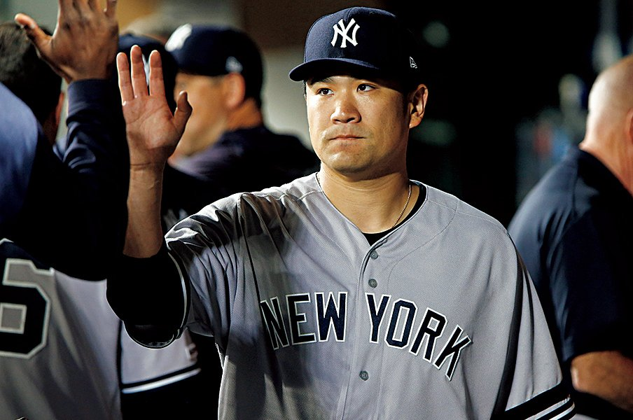 """""""日本人初""""以上の価値がある、田中将大の6年連続2桁勝利。<Number Web> photograph by Getty Images"""
