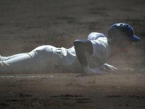 大阪桐蔭の6番が「自分は底辺」。禁止のはずのヘッスラに真髄を見た。