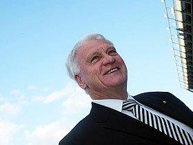 イングランド元代表監督、故ボビー・ロブソンの「情熱と意志」。