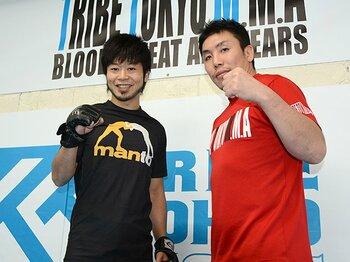 "『THEイナズマ戦隊』上中丈弥が語る、""いい大人""が格闘技をはじめる意味。<Number Web> photograph by Norihiro Hashimoto"