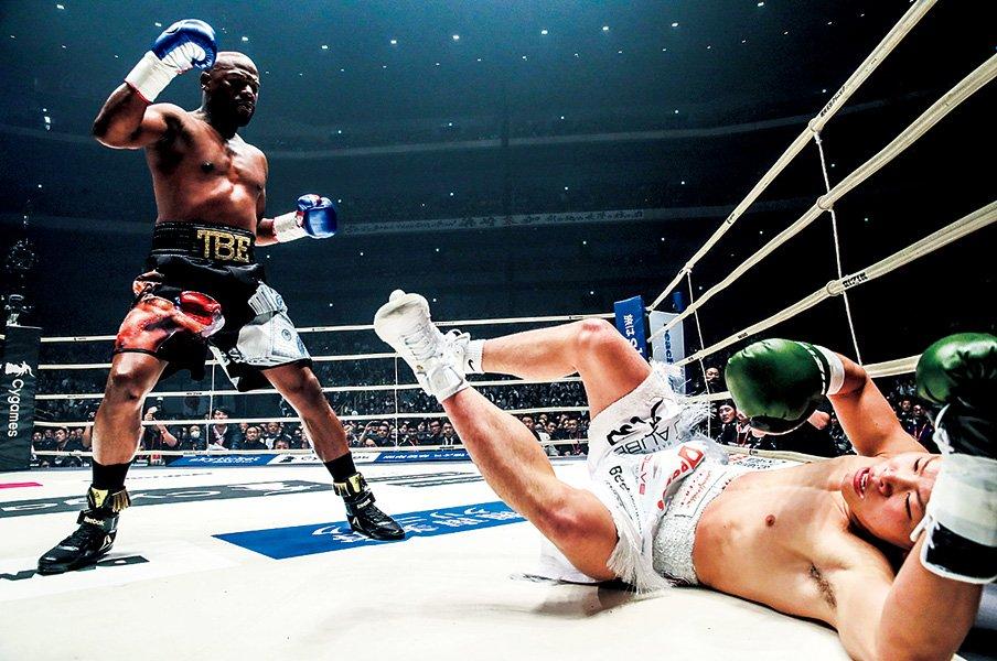 メイウェザー戦の敗北から那須川天心が得たものとは。~体重差、真剣度を差し引いても残る知名度~<Number Web> photograph by Susumu Nagao
