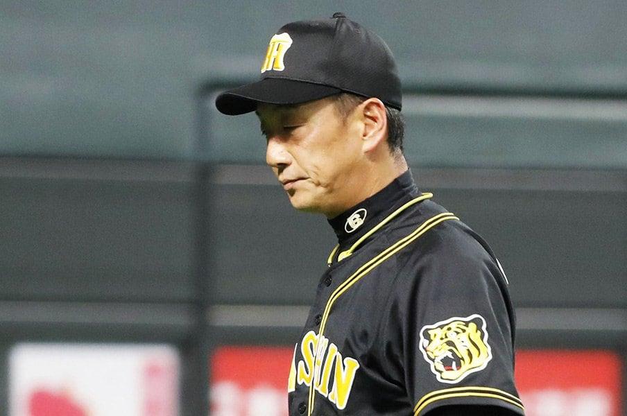 金本阪神の原点とは何だったのか。藪恵壹が見たタイガースの交流戦。<Number Web> photograph by Kyodo News