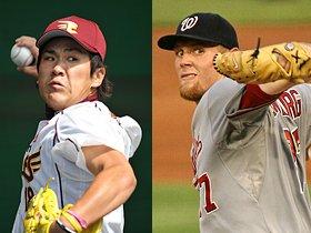 田中将大、斎藤佑樹、ストラスバーグ。投球回数に現れる若手育成法の違い。