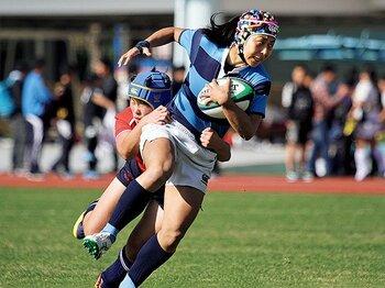 セブンズと15人制、女子の進歩は両輪で。~ラグビーガールズの強化策~<Number Web> photograph by Nobuhiko Otomo