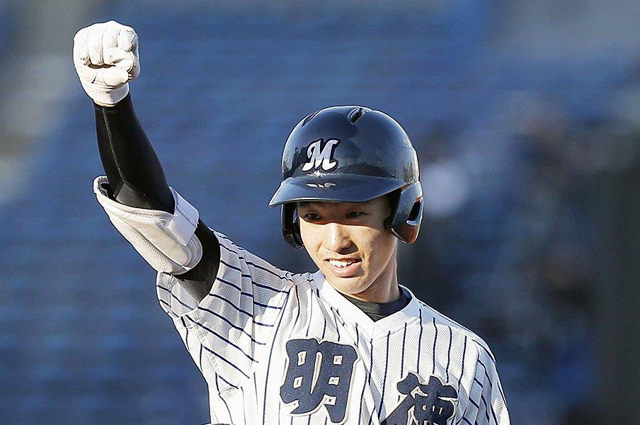 「大学注目」という新カテゴリー。センバツで気になる6人の野手たち。<Number Web> photograph by Kyodo News