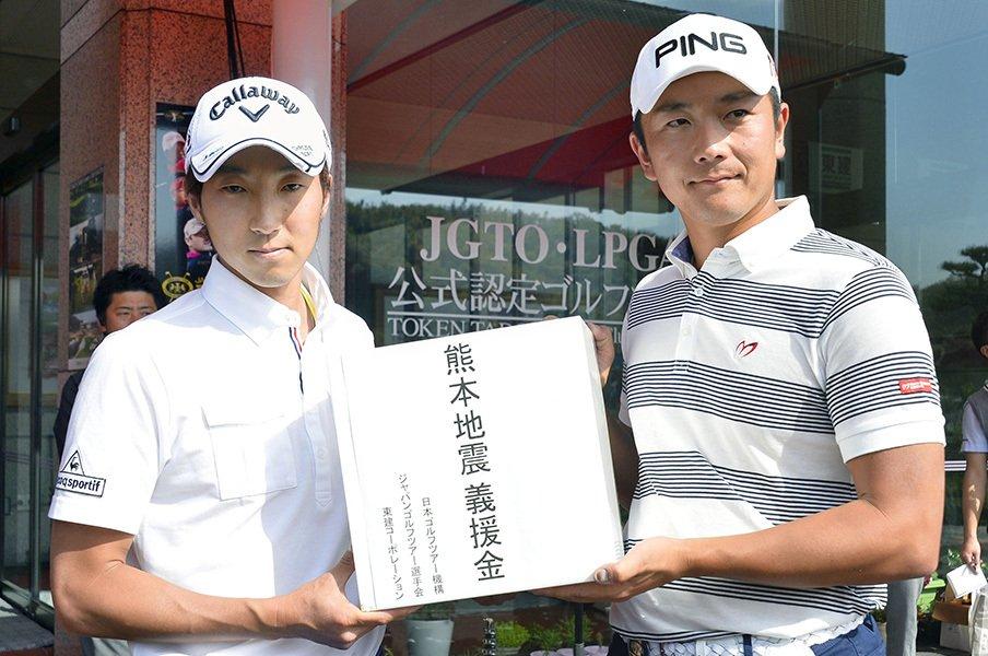 熊本出身ゴルファーが活躍中!今だからこそ支援のあり方を考える。<Number Web> photograph by Kyodo News