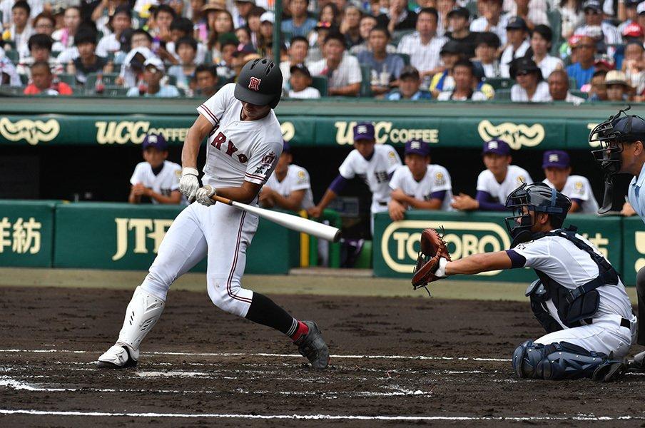 甲子園で人気の金属バットはどれ?68本塁打リストと高性能化の影響。<Number Web> photograph by Hideki Sugiyama