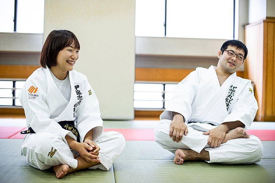 結婚を決意した廣瀬悠(パラ柔道)の真意に、松岡修造がさらに切り込む!<Number Web> photograph by Yuki Suenaga
