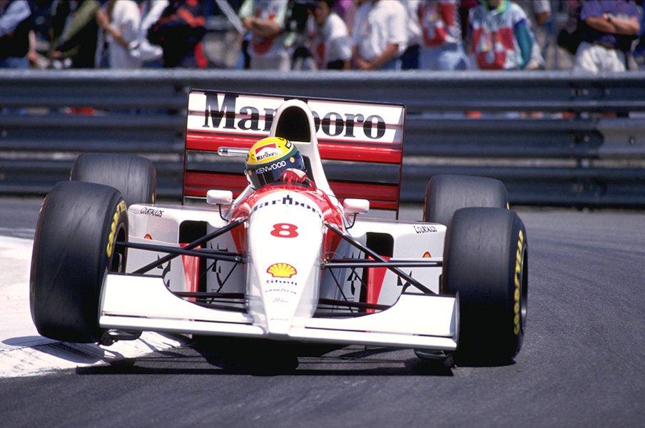 セナが愛したマクラーレンの名車。競売でロン・デニスが買い戻す!?<Number Web> photograph by Marlboro