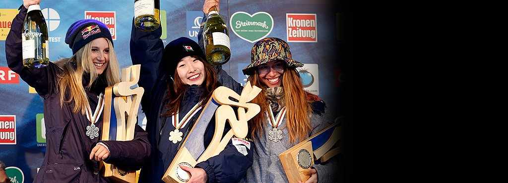 史上最年少優勝の鬼塚雅16歳。 新スノーボード女王は南国・熊本出身!?