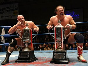 全日本プロレスの「世界最強タッグ」。ガンから復帰・優勝した男の物語。