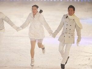"""高橋大輔と浅田真央、「特別な時間」。初共演で再認識した2人の""""大きさ""""。"""