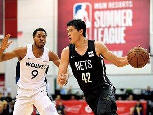 日本人2人目のNBA出場なるか。渡邊雄太、夢舞台へ一歩前進。~小学2年からの「NBAに入りたい」という夢~
