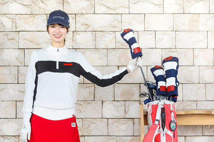 「#ゴルフ女子」の元祖が教える、女子が90を切るための3つの秘訣。<Number Web> photograph by Atsushi Hashimoto