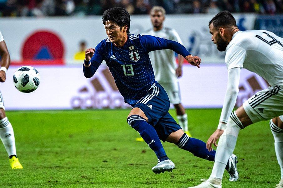 ポストタイプのFWは大迫勇也1人。アジア杯で新布陣が見られる予感。<Number Web> photograph by Takuya Sugiyama
